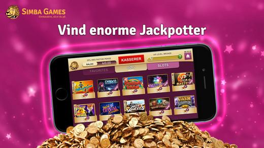 Simba Games mobil casino