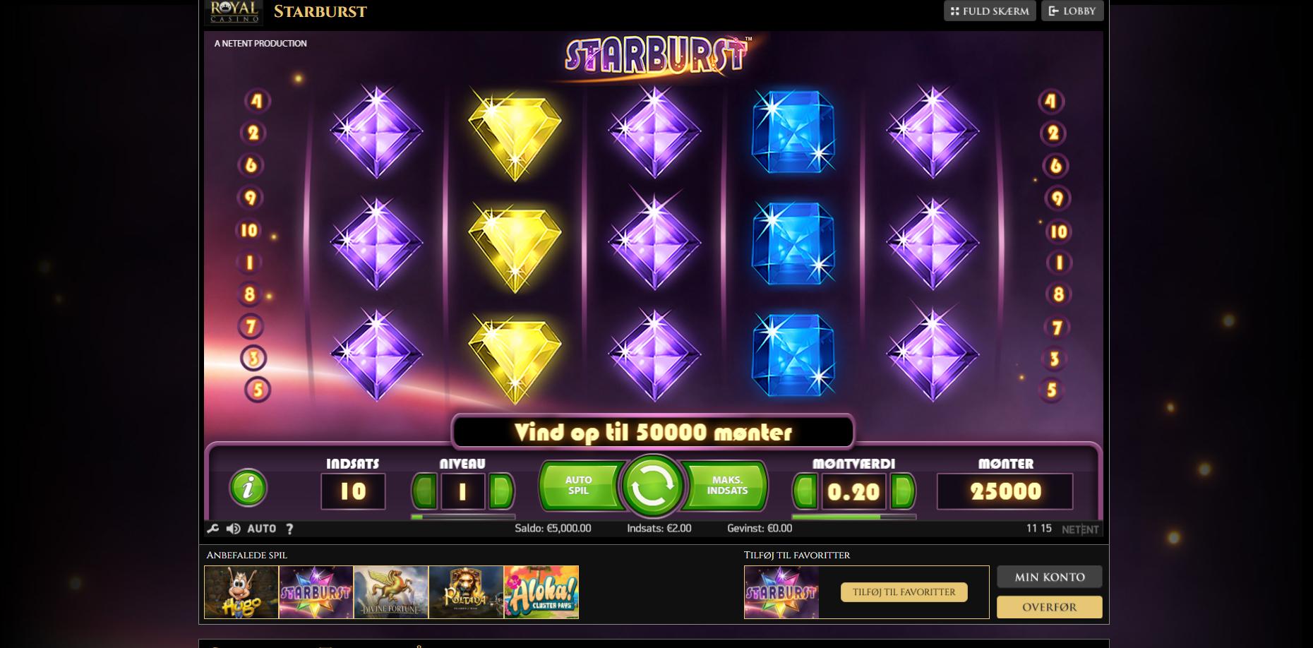 Royal Casino Starburst